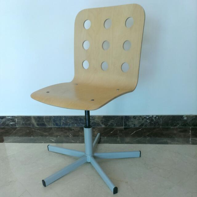 ikea jules chair steel rate desk without wheels furniture on carousell