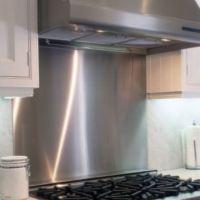 Stainless Steel Backsplash Sheet For Kitchen, Home ...