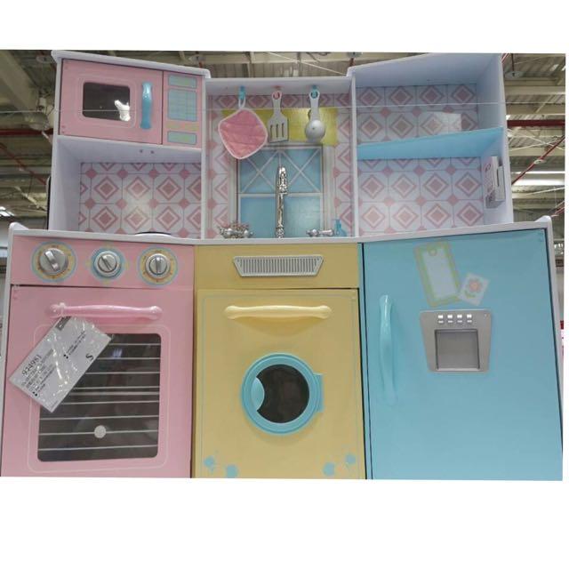 kid craft kitchen copper accents 全新現貨kidkraft甜點粉彩廚房 親子用品在carousell kidkraft厨房