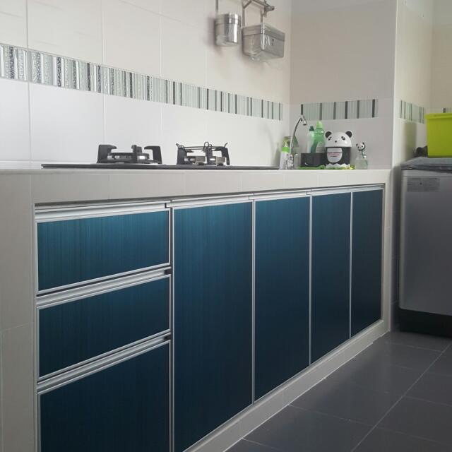 Aluminium Kitchen Cabinet Door Furniture on Carousell