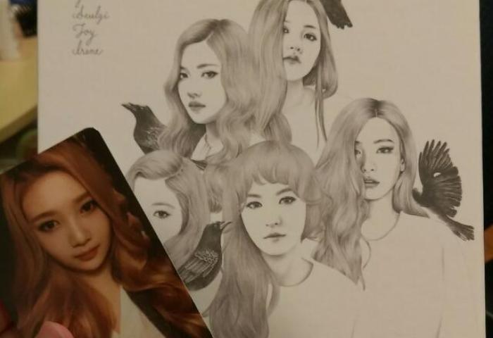 Pending Red Velvet Icc Ice Cream Cake Album Automatic Version With