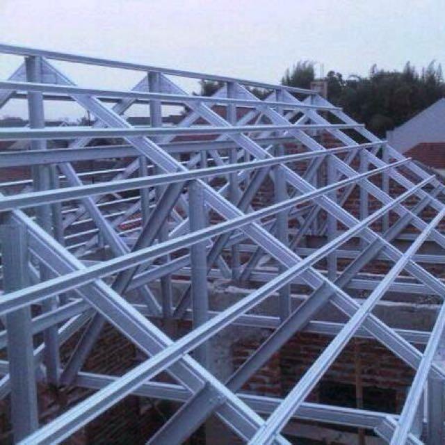 baja ringan k steel konstruksi atap property on carousell