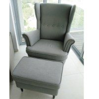 Ikea Grey Wing Chair. awesome gray wing chair grey chair ...
