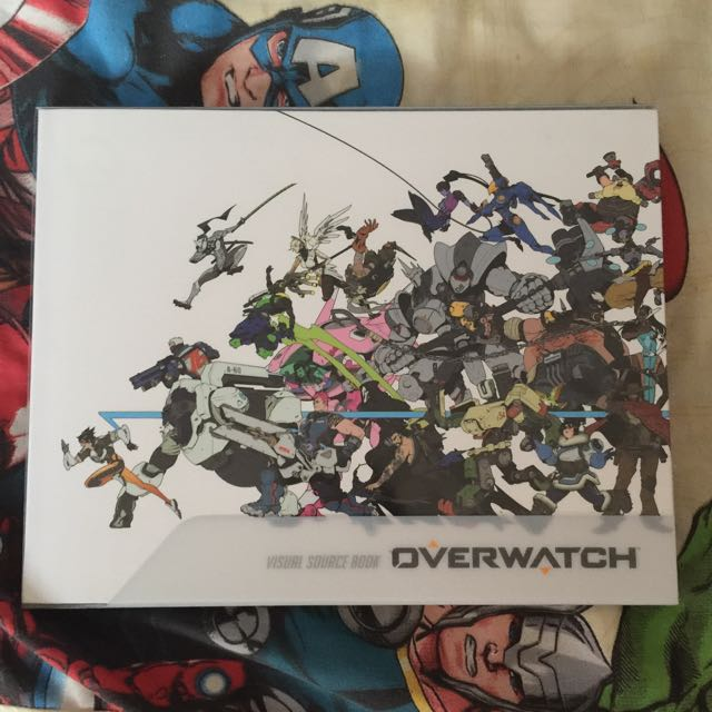 overwatch collector edition visual