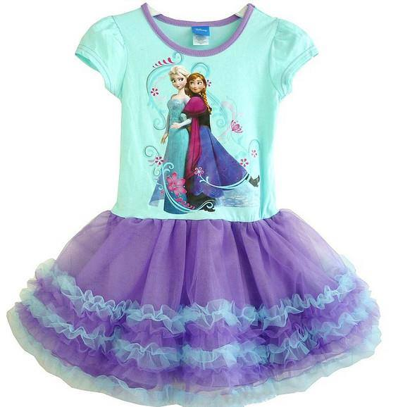 Dress Anak Perempuan Frozen Elsa Anna Babies Kids Girls Apparel On Carousell