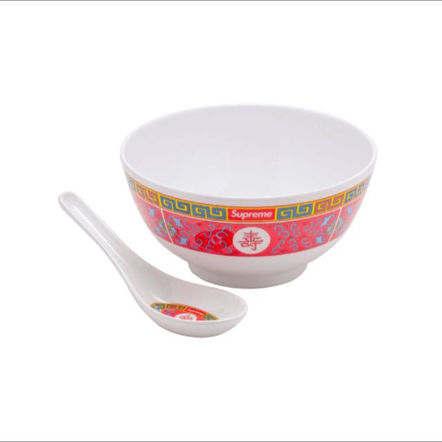 supreme chinese bowl authentic