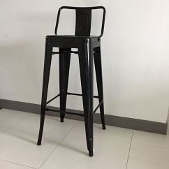 Chair Cba Steel Half Circle Tolix Black 76cm Seat Height Furniture Tables Chairs On Carousell
