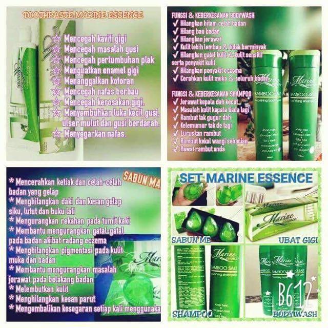 Marine Essence Soap Marine Essence Shampoo Ubat Gigi Marine Essence Health Beauty Skin Bath Body On Carousell