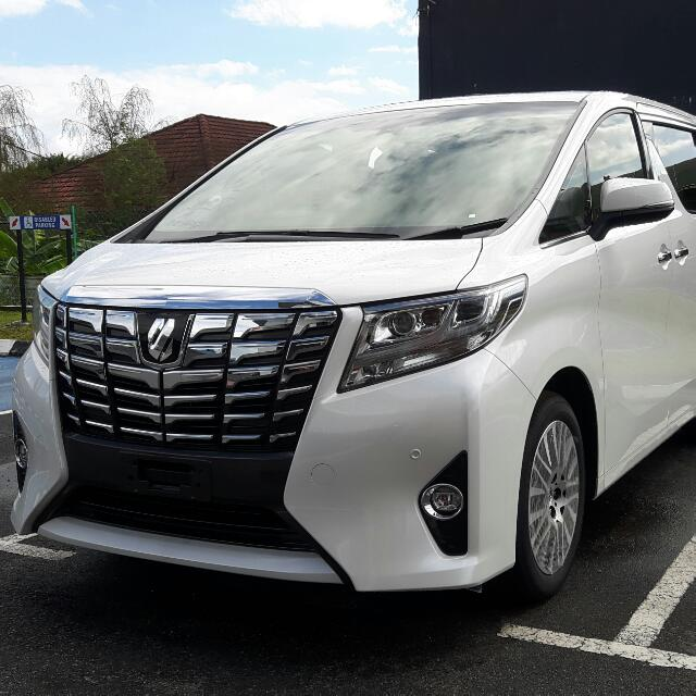 harga all new alphard executive lounge yaris trd heykers brand toyota 3 5 2017 years warranty and free service malaysian spec ecu 6 speed automatic with sequential shifter ready