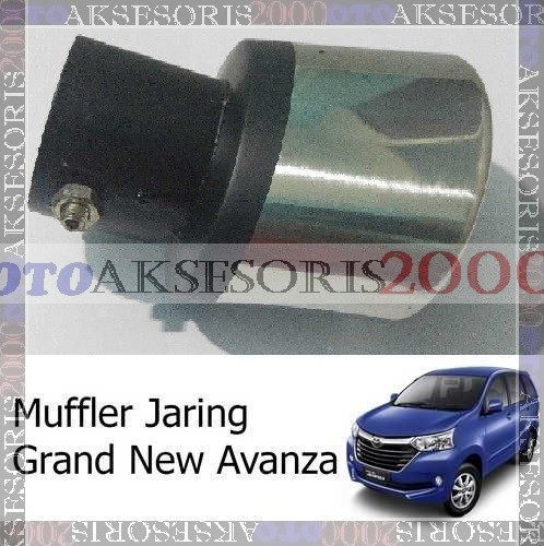 aksesoris grand new avanza veloz putih muffler buntut knalpot racing jaring photo