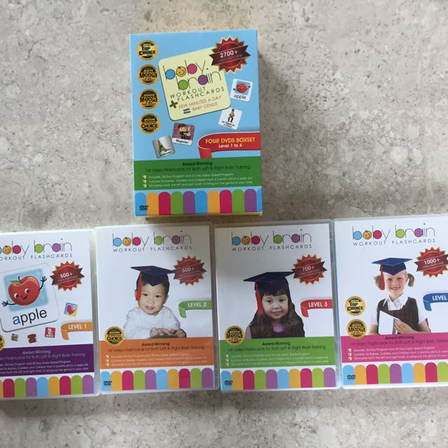 Baby Brain Workout Flashcards Dvd On Carousell