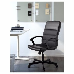 Swivel Office Chair Without Arms French Countryside Dining Chairs With Desk Arm Ikea Hostgarcia