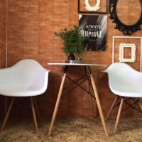 Eames Table And Chairs White Gloss Table Coloured Eames ...