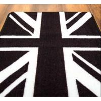 Black Union Jack Rug - Rugs Ideas