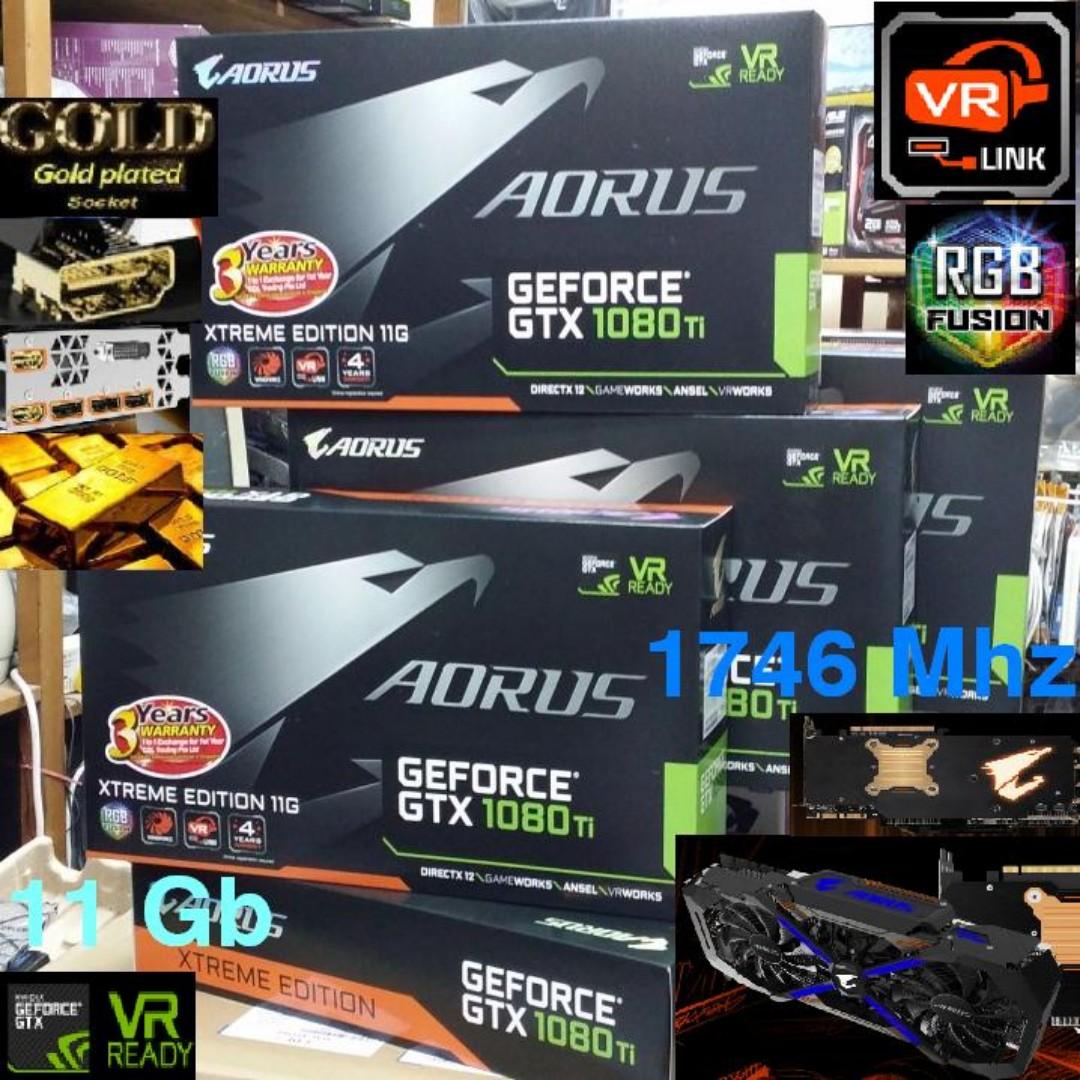 gigabyte gtx 1080 ti