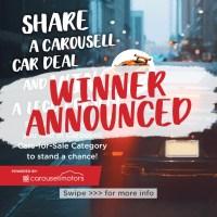 Share a Carousell CAR deal, WIN a Lego Porsche (worth $599