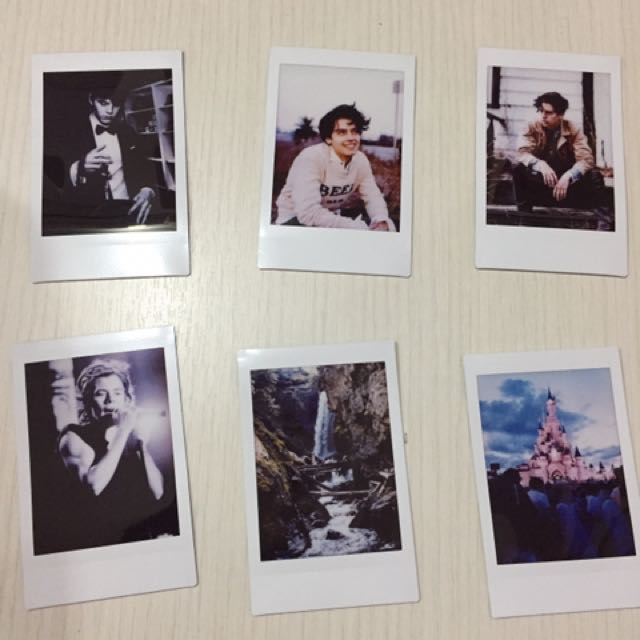 indie tumblr polaroids design