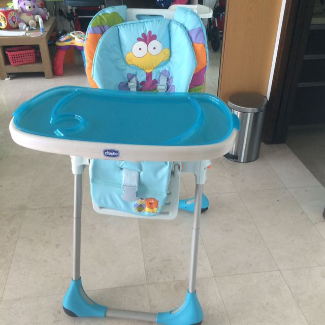 safari high chair green recliner cover chicco polly 2 in 1 highchair key babies kids nursing feeding on carousell