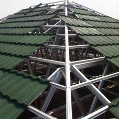 Gambar Rangka Atap Baja Ringan Limasan Kanopi Plafon Property For Sale On Carousell