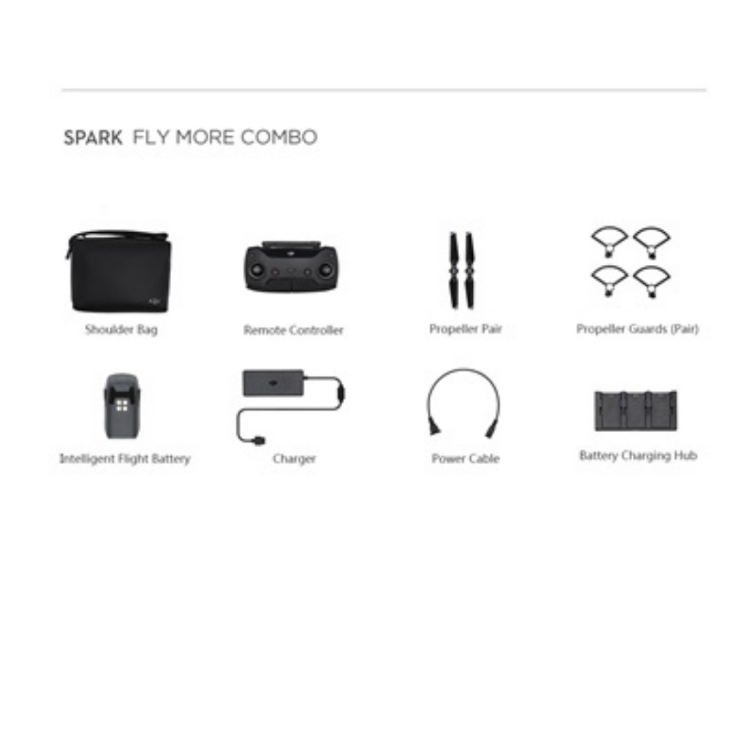 Fly More Combo Kit For DJI SPARK(Without Drone