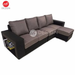 L Shaped Sofa Designs Pune Flexsteel Double Reclining Shape Set With Storage Baci Living Room