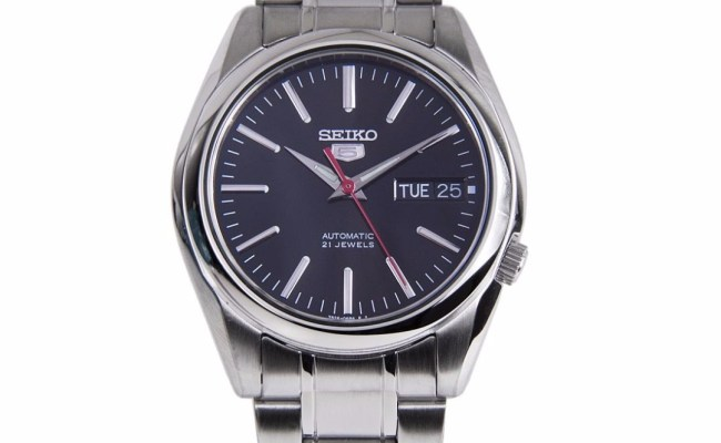 Brand New Seiko 5 Automatic 30m Black Dial 100 Authentic