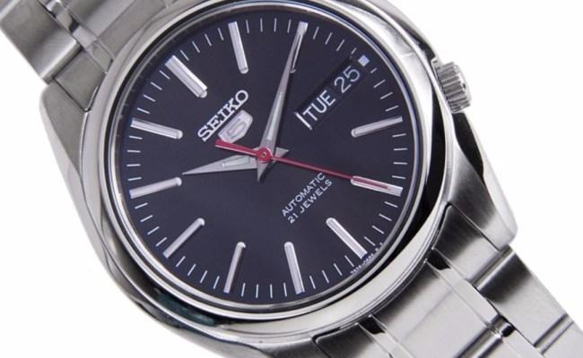 Brand New Seiko 5 Automatic 30m Black Dial 100 Authentic
