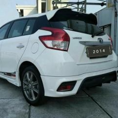 Toyota Yaris Trd Putih Grand New Avanza Modif 1 5 At 2014 Metallk Mobil Motor Photo