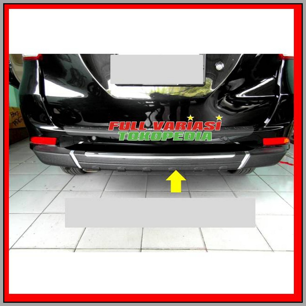 aksesoris grand new avanza 2017 toyota yaris trd supercharger kit pengaman belakang all xenia auto accessories on carousell photo