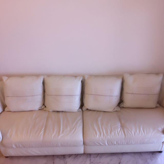 domicil arezzo sofa small scale modular corner taraba home review full leather set with 4 cushions furniture sofas on carou