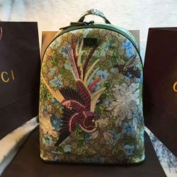 e24badb69817d2 Gucci Xi Gg Floral Backpack Men, Men's Fashion, Bags & Wallets On