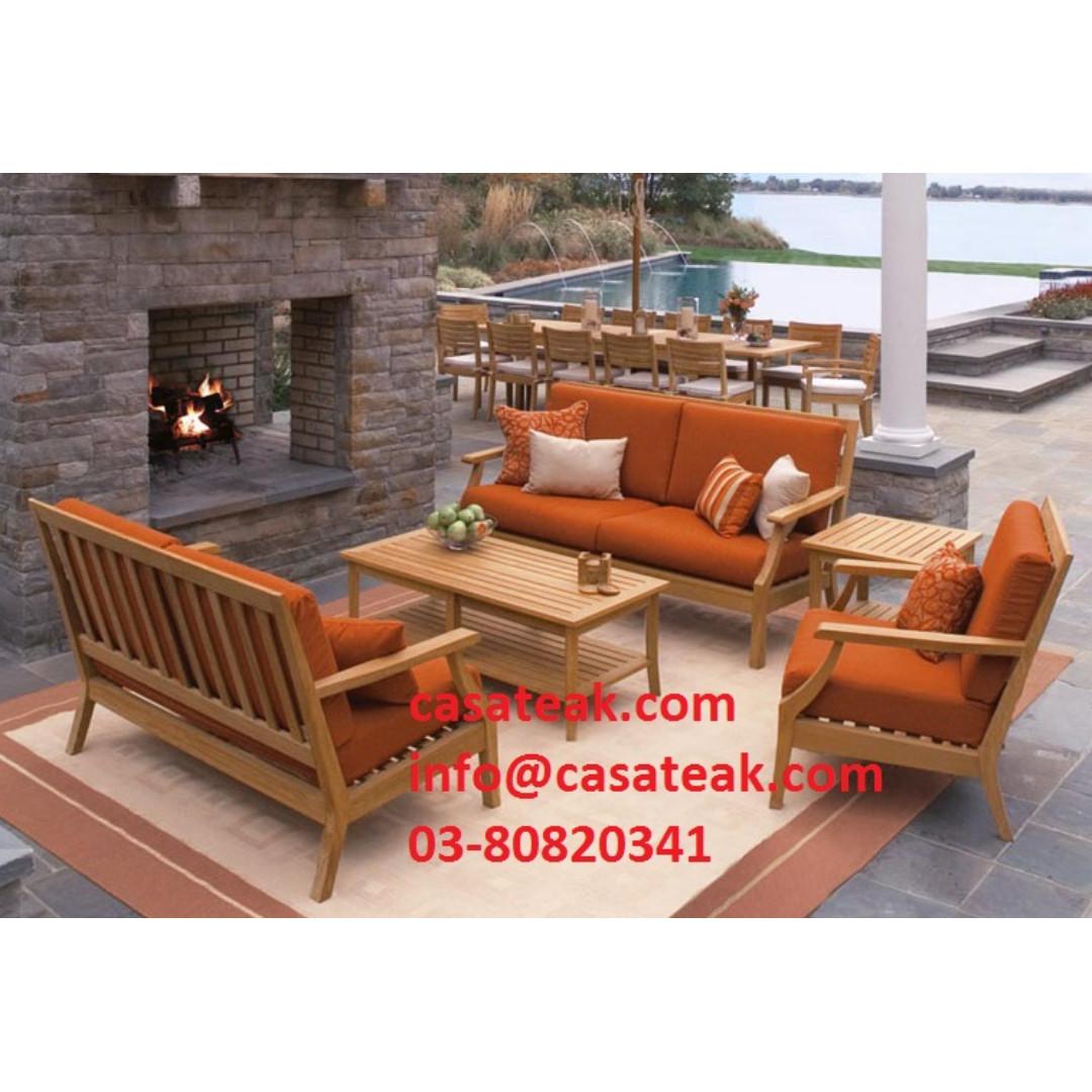 teak wood sofa set philippines chenille fabric care in malaysia home the honoroak