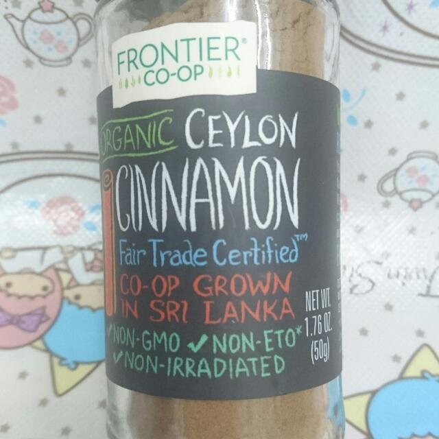 嚴浩清宿便秘方 有機錫蘭肉桂粉Organic Ceylon Cinnamon (50g), 嘢食 & 嘢飲, 包裝食品 - Carousell