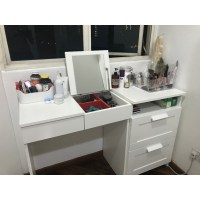 IKEA BRIMNES Dressing table + chest of 2 drawers (Free ...