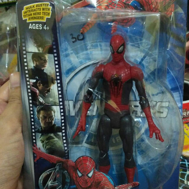 Action Figure Spiderman Toys Collectibles Mainan Di Carousell