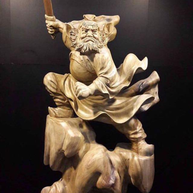 鍾馗木雕 的拍賣價格 - 飛比價格