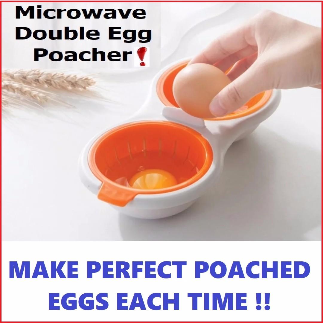 microwave poached egg maker mould cooker lunch box breakfast maker