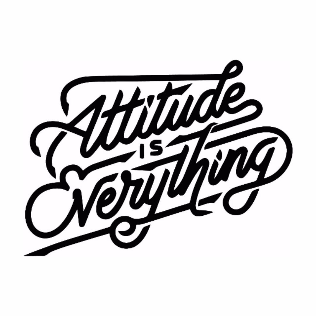 Attitude Bike Quotes Stickers