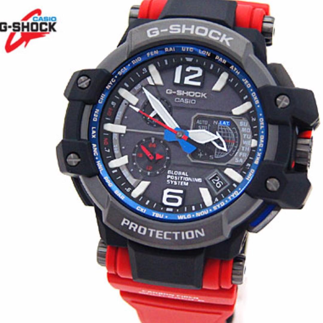 *brand New* Casio Gshock Gravitymaster Red Rescue Gpw