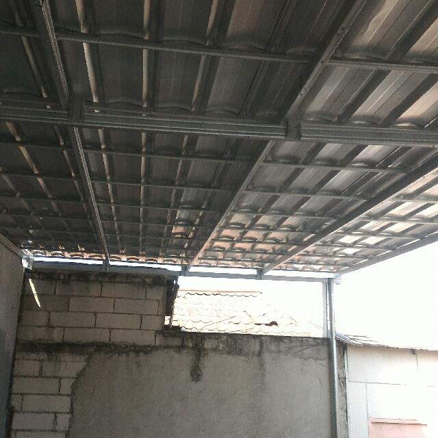 kanopi baja ringan untuk dapur tukang pasang atap di d k i
