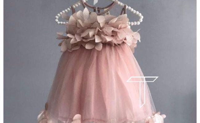 Niccoli Pink Party Dress Formal Dress Birthday Dress