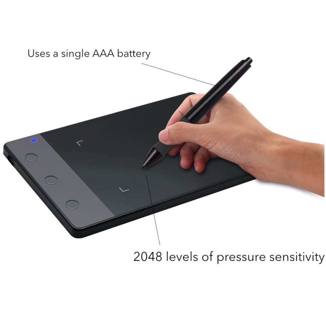 huion h420 drawing tablet