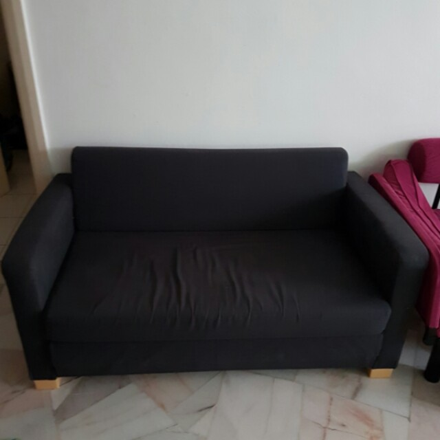 sofa bed malaysia murah patio set ikea solsta home furniture on carousell