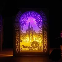 Night light Bedroom lamp light box magical Wedding gift ...