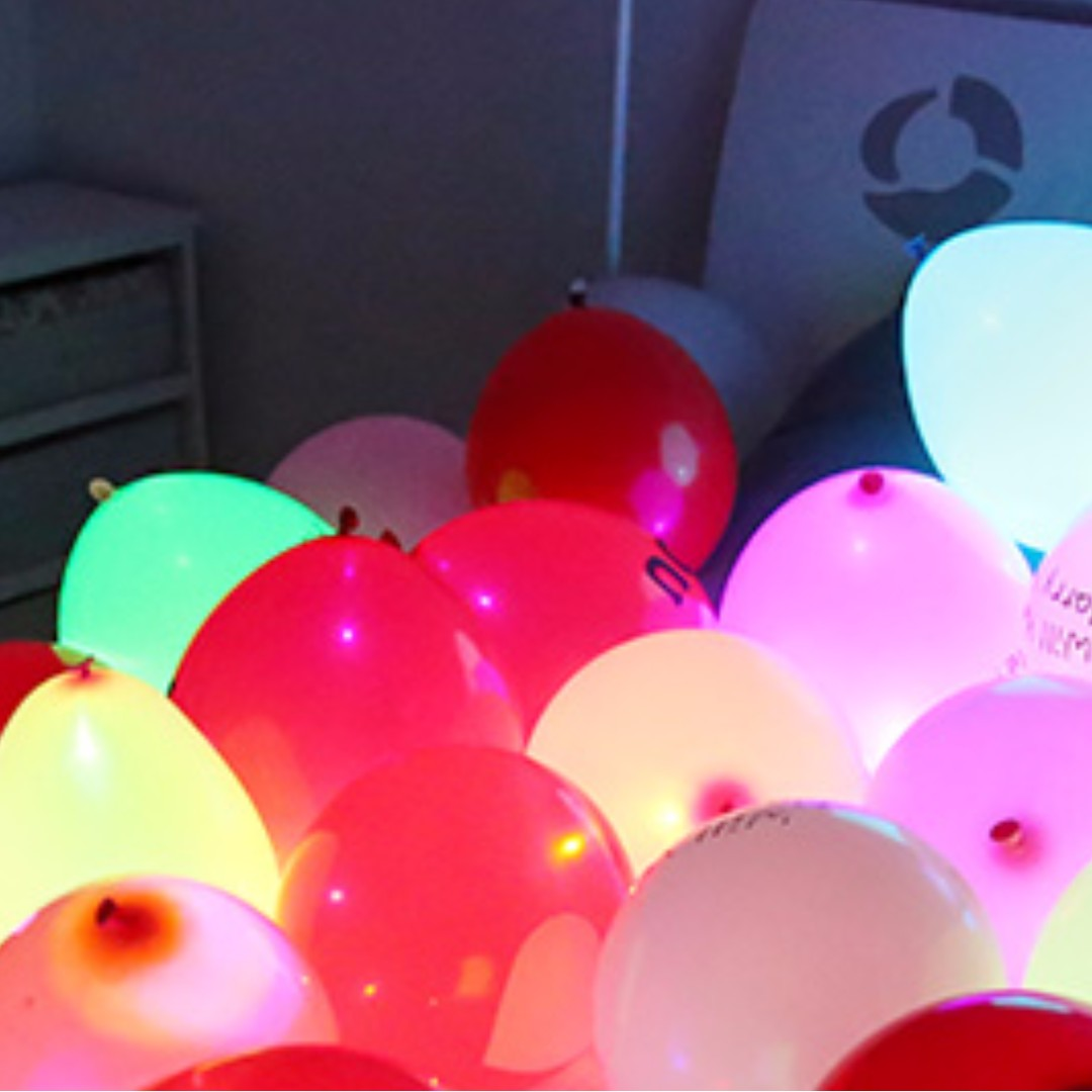 LED Light up Balloons Design  Craft Others on Carousell