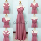 Old Rose Infinity Dress