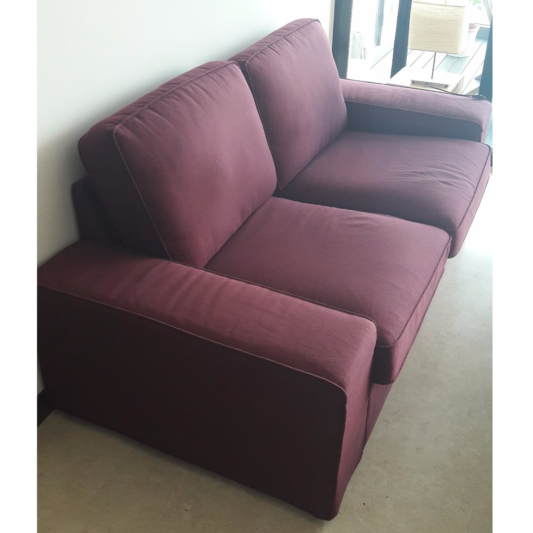 charity sofa pick up pink com free 2 seat blue to sofas