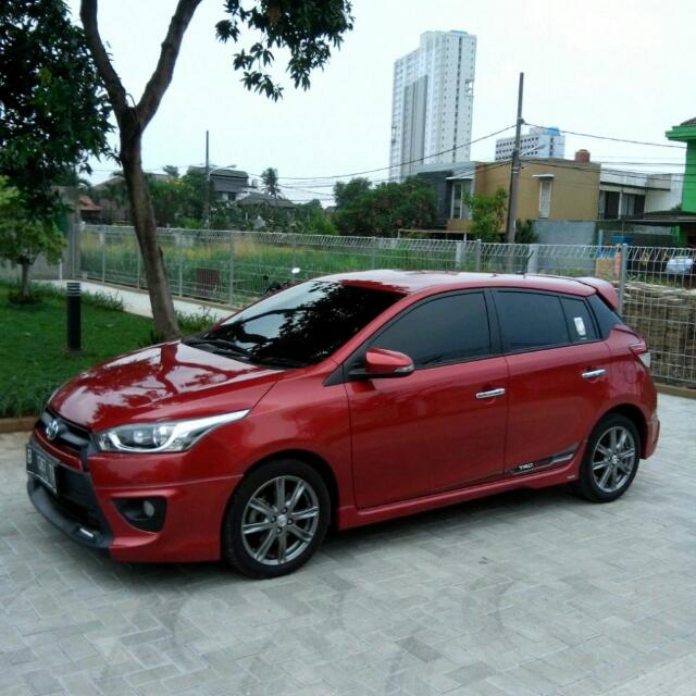 toyota yaris 2014 trd bekas harga all new kijang innova 2016 s sportivo 2014at merah beli second rasa baru cars for sale on carousell