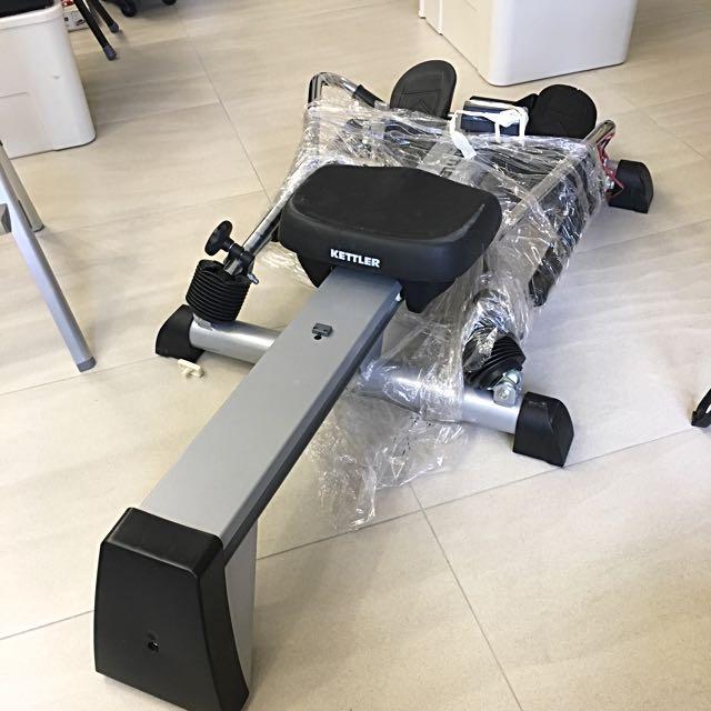 Kettler Sport & Fitness Rowers 劃艇機 健身器材,掌握核心科技,體育用品,水阻劃船機健身器,劃船式健身器材, 其他運動產品 - Carousell
