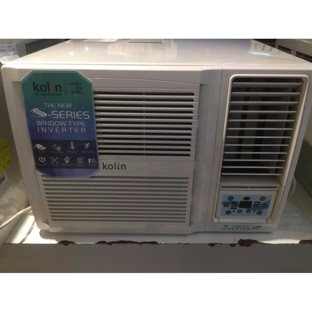 hight resolution of kolin kag 150hre4 1 5 hp window type airconditioner ansons